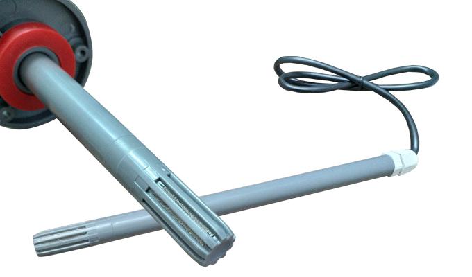 Cảm biến đo ẩm RS485, 4-20mA, 0-10VDC trong đường ống.