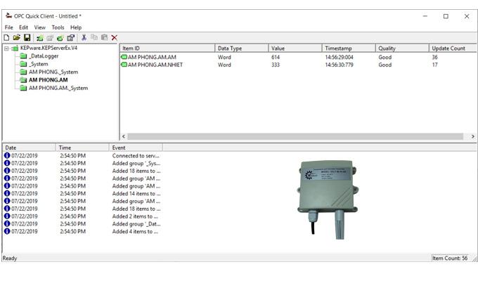Cảm biến đo ẩm RS485, 4-20mA, 0-10VDC