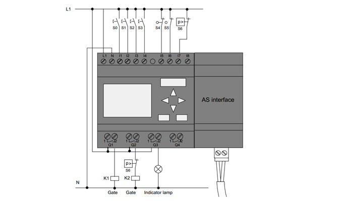 Bộ lập trình PLC LOGO 230RC Siemens