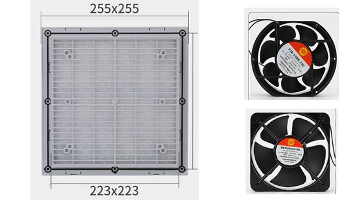 Lưới lọc bụi ZL805