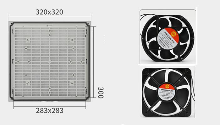 Lưới lọc bụi ZL806